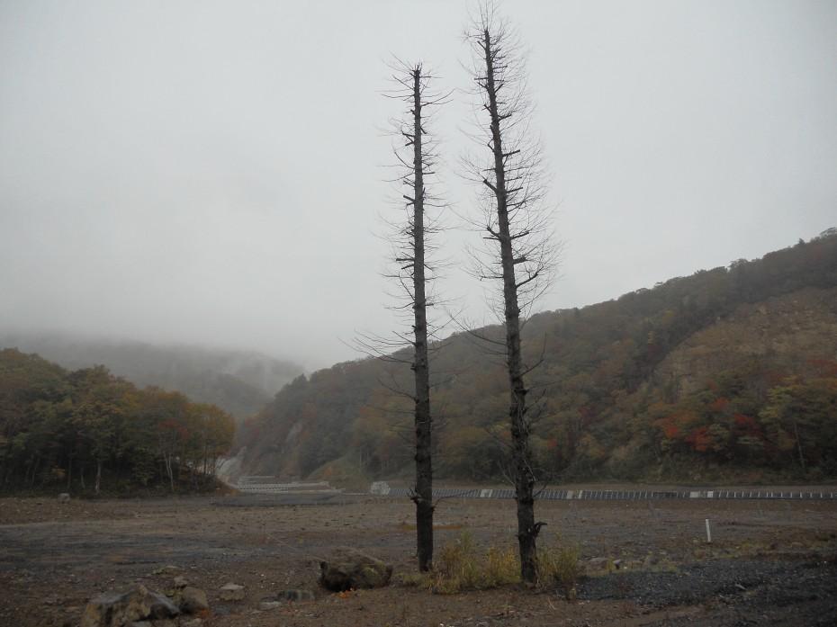 栗原耕英地区「駒の湯」跡 (2014.10.16)