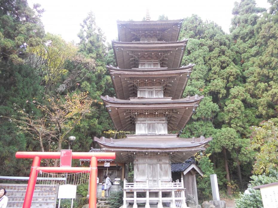 酒呑童子神社 ①(新潟県弥彦村 2014.11.07)